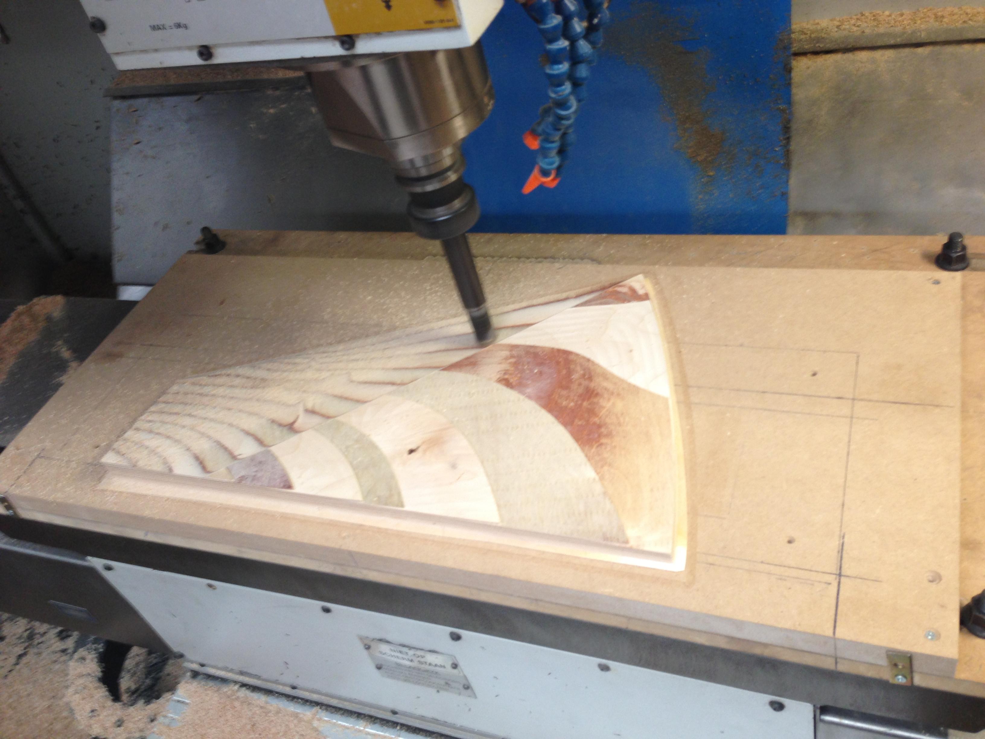 Forex printen en frezen
